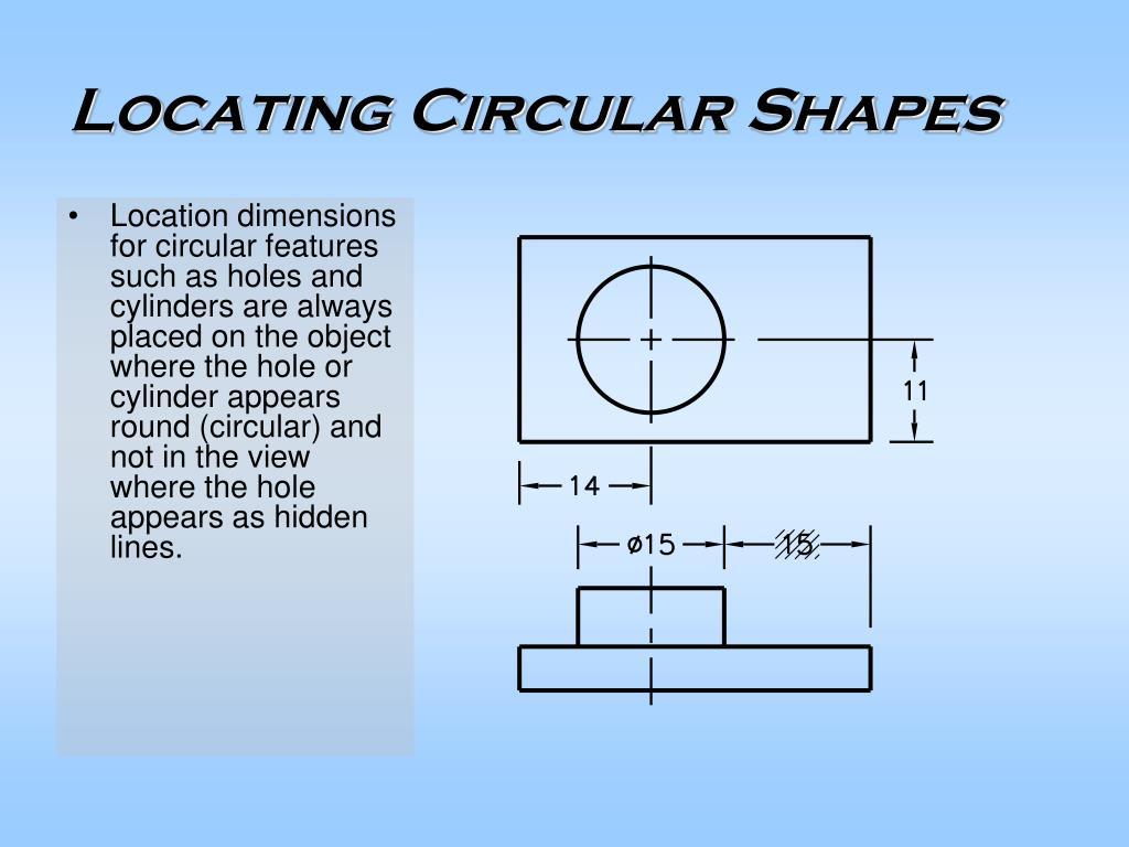 Locating Circular Shapes