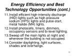 energy efficiency and best technology opportunities cont15