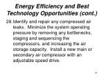 energy efficiency and best technology opportunities cont20