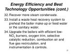 energy efficiency and best technology opportunities cont22