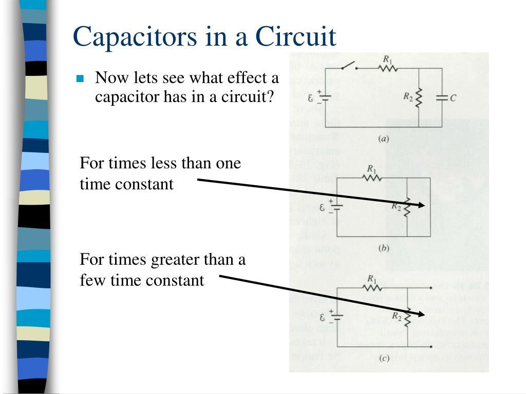 Capacitors in a Circuit