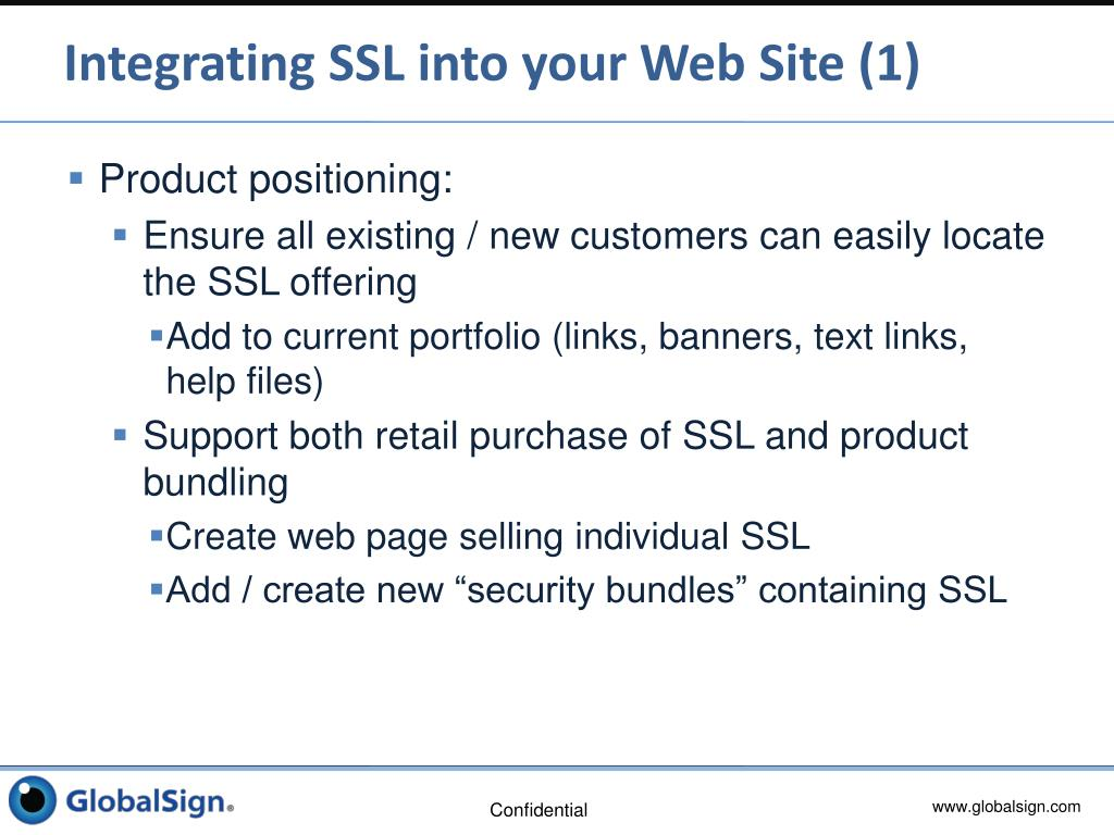Integrating SSL into your Web Site (1)