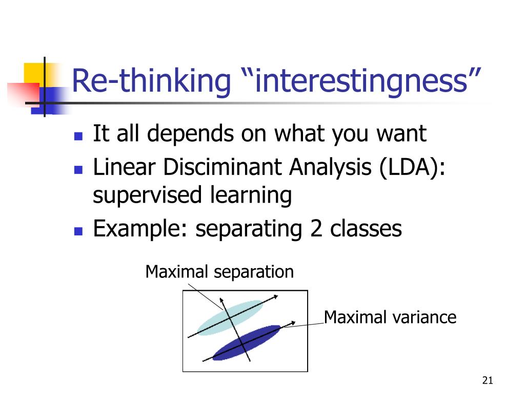 "Re-thinking ""interestingness"""