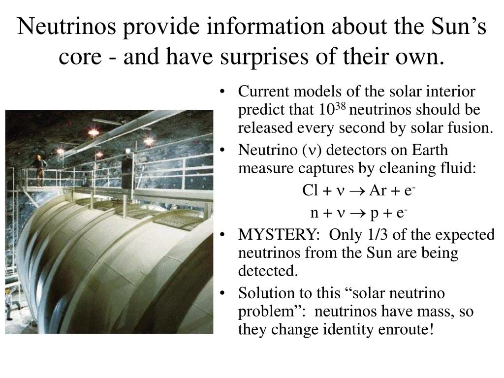 Neutrinos provide information about the Sun's core - and have surprises of their own.