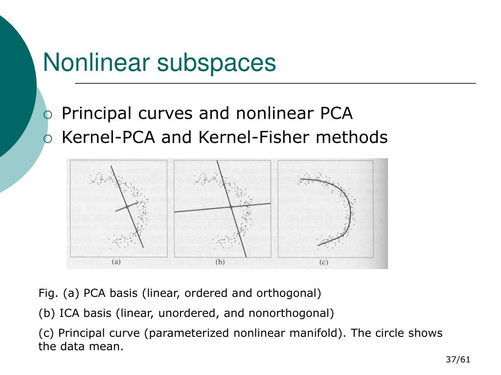 Nonlinear subspaces