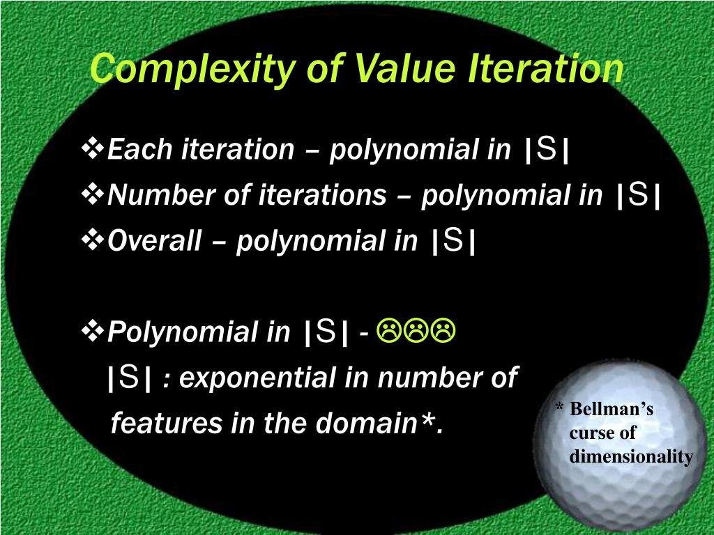 Complexity of Value Iteration