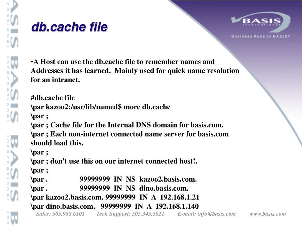 db.cache file