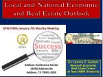 local and national economic and real estate outlook64