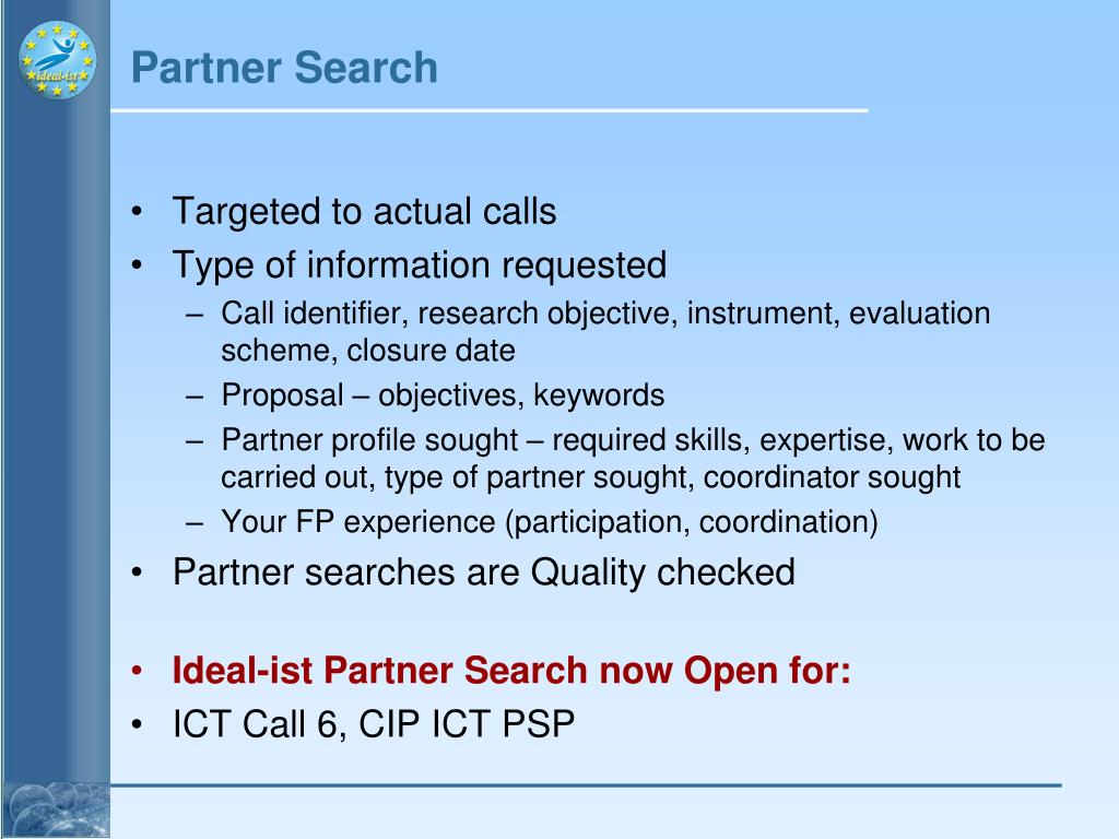 Partner Search