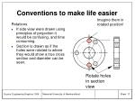 conventions to make life easier17