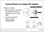 conventions to make life easier18