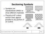 sectioning symbols