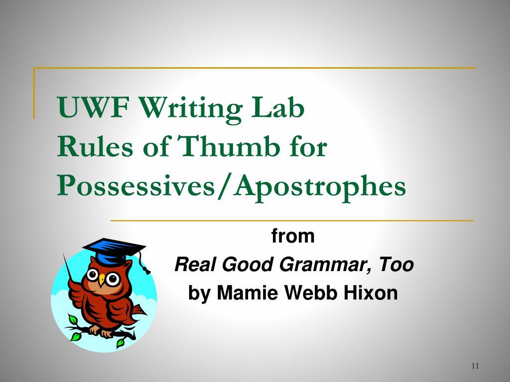 UWF Writing Lab