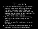 tco definition