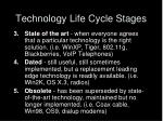 technology life cycle stages31