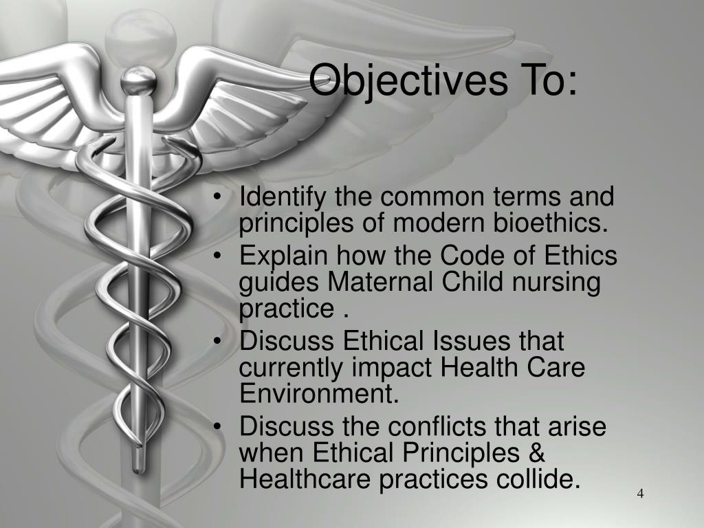 Objectives To: