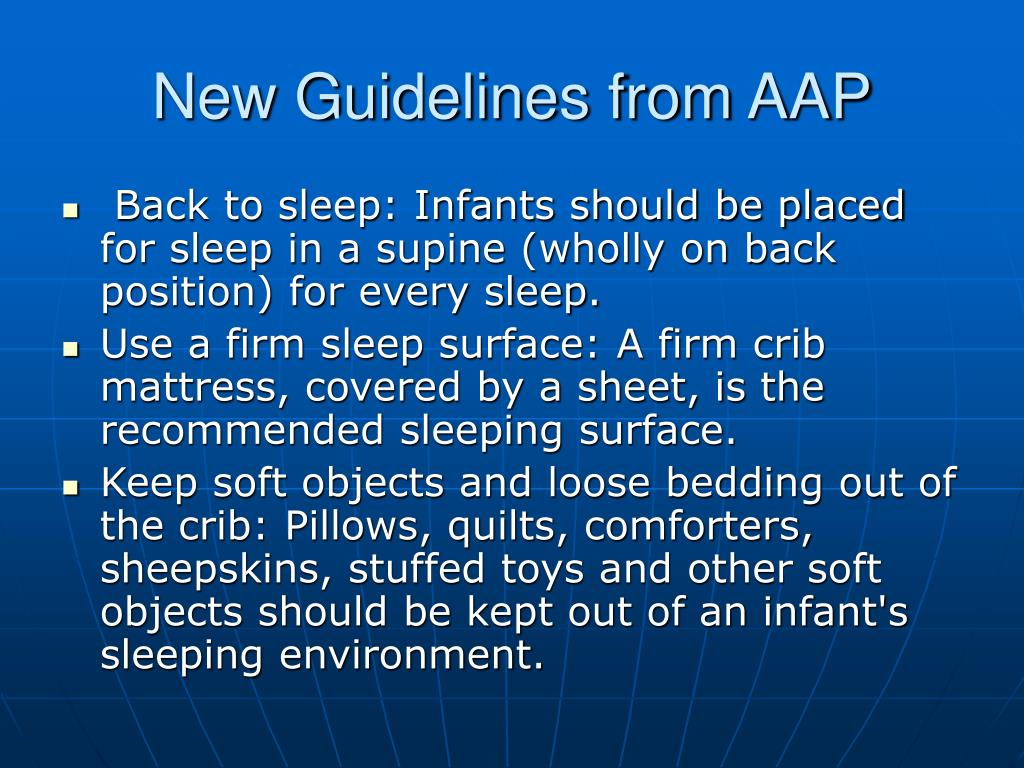 New Guidelines from AAP