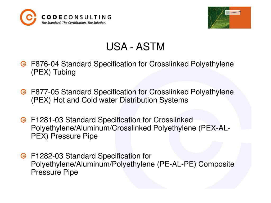 USA - ASTM