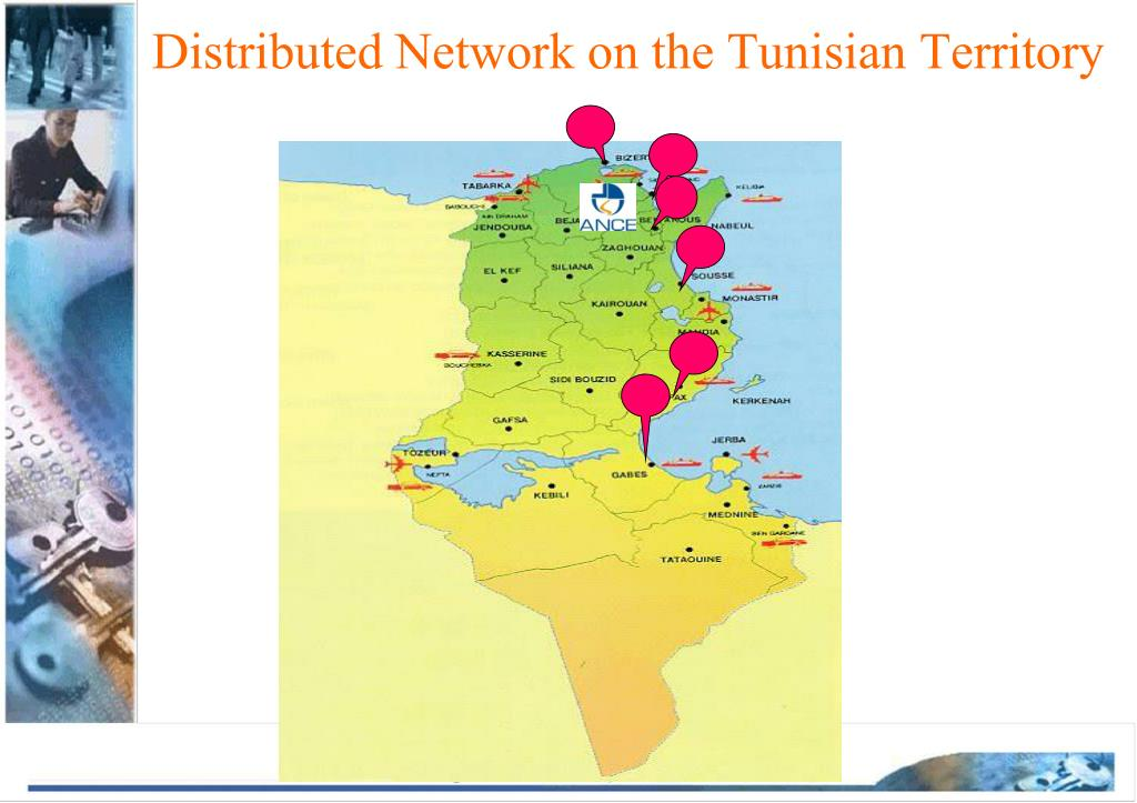 Distributed Network on the Tunisian Territory