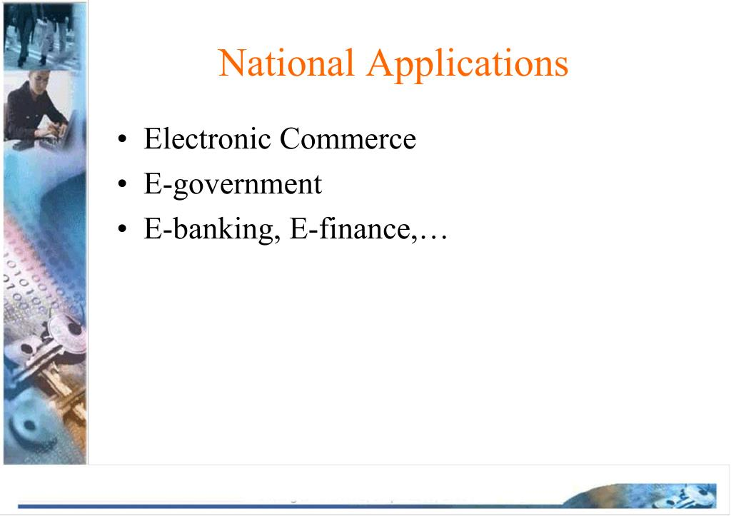 National Applications