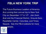 fbla new york trip