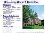 conference chairs committee
