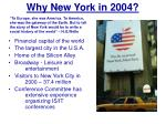 why new york in 2004