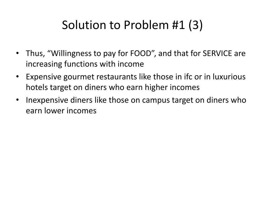 Solution to Problem #1 (3)