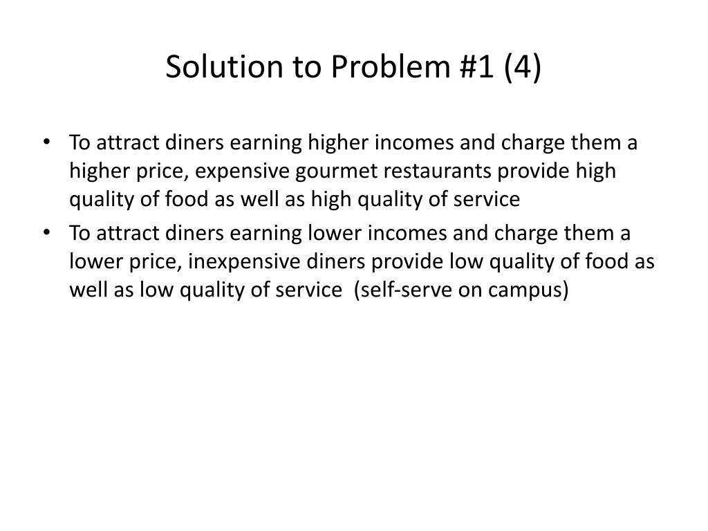 Solution to Problem #1 (4)