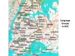 language groups in nyc