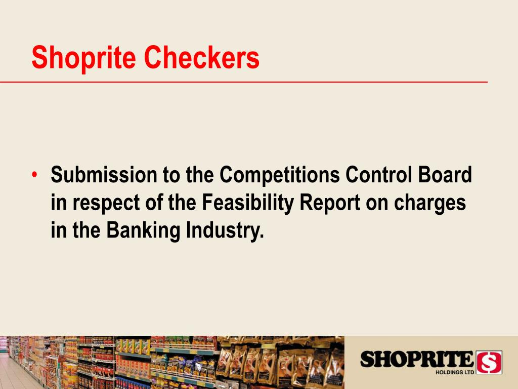 Shoprite Checkers