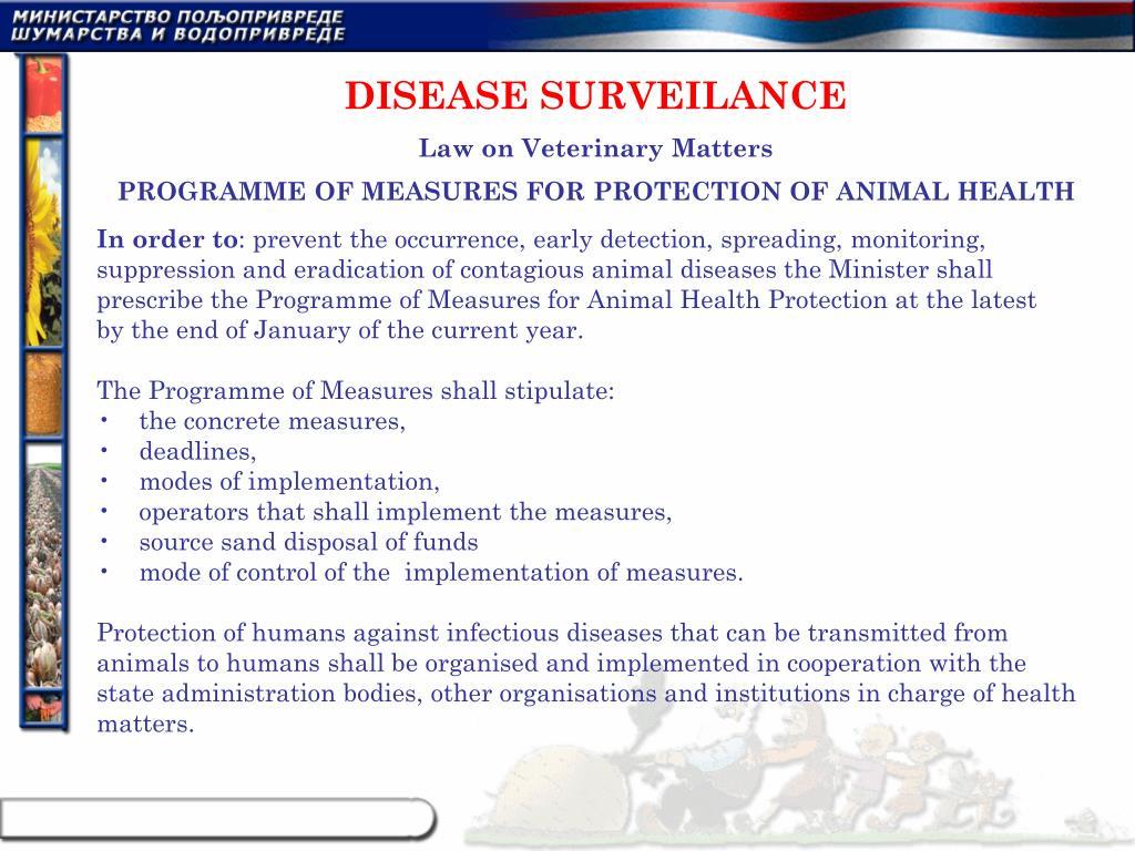 DISEASE SURVEILANCE