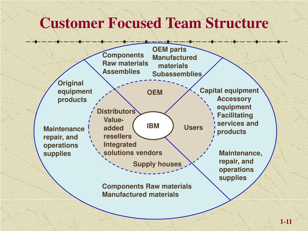 Customer Focused Team Structure