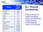 26 1 thermal conductivity14