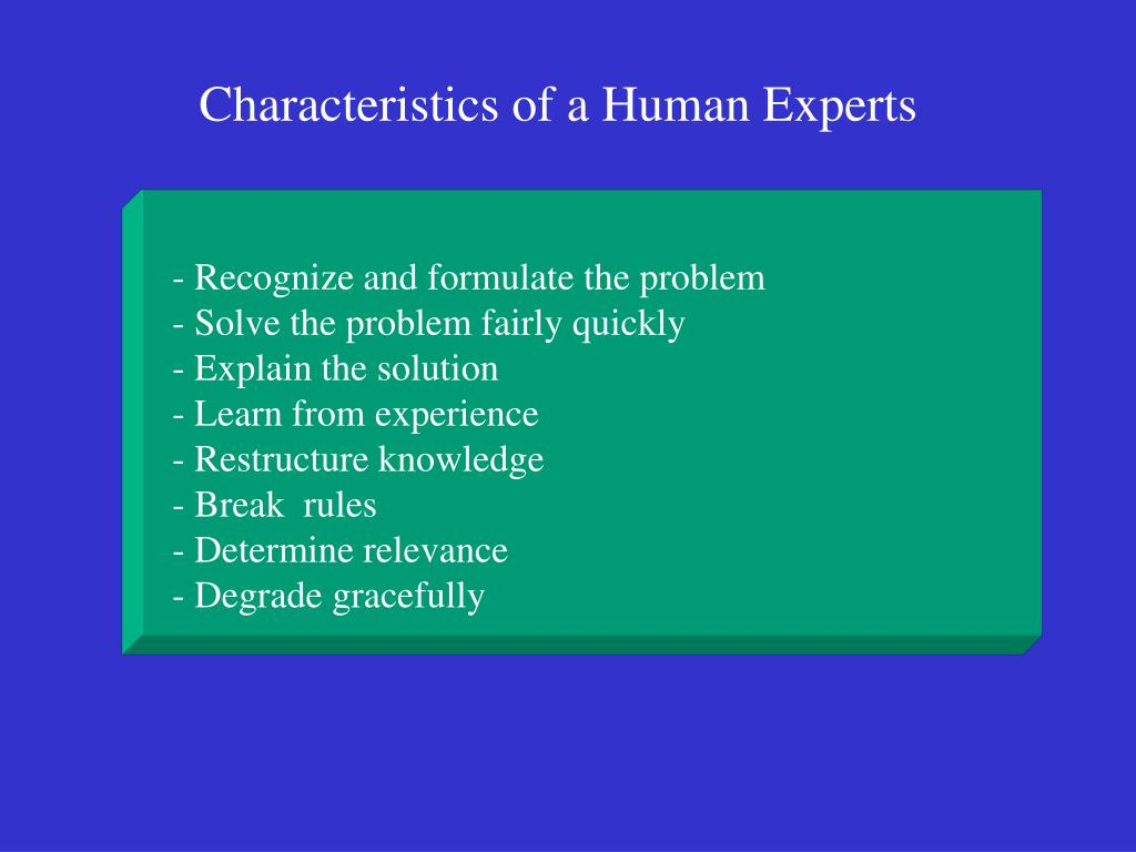 - Recognize and formulate the problem