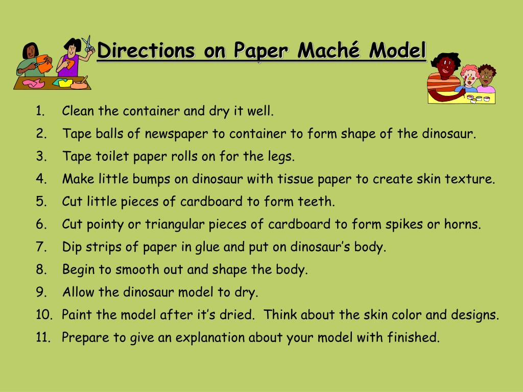 Directions on Paper