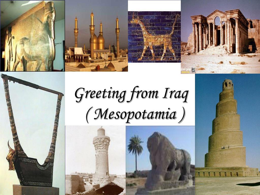 Greeting from Iraq