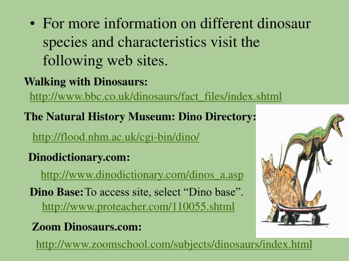 Walking with Dinosaurs: