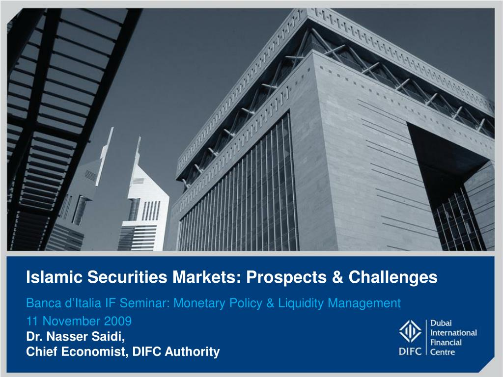 islamic securities markets prospects challenges l.