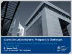 islamic securities markets prospects challenges