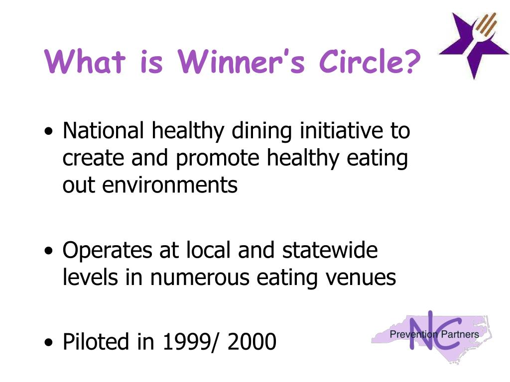 What is Winner's Circle?