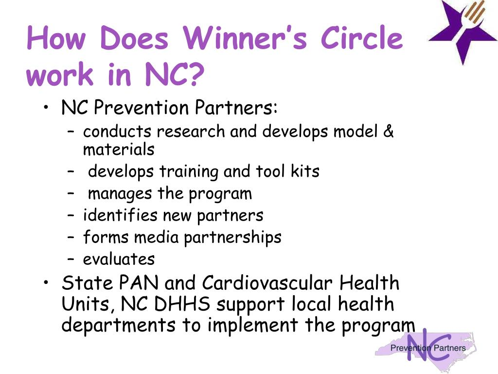 How Does Winner's Circle work in NC?