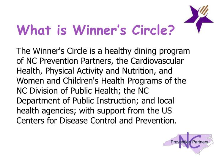 What is winner s circle