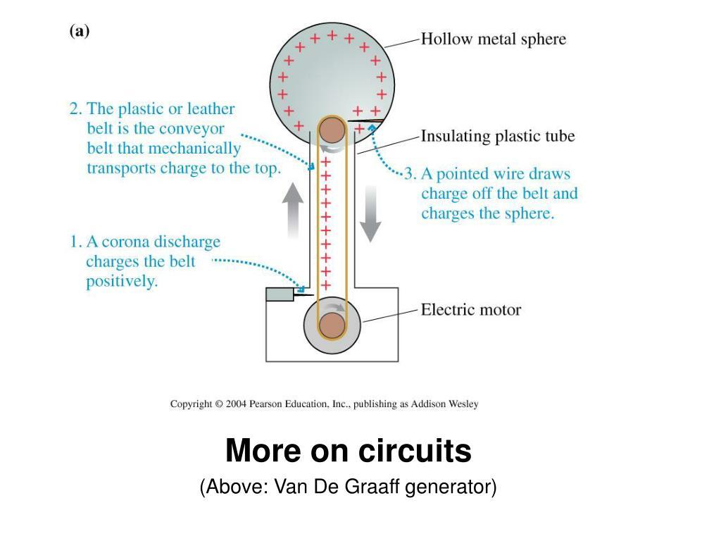 Ppt More On Circuits Above Van De Graaff Generator Powerpoint Multivibrator Circuit Ideals Simple Crystal Oscillator L