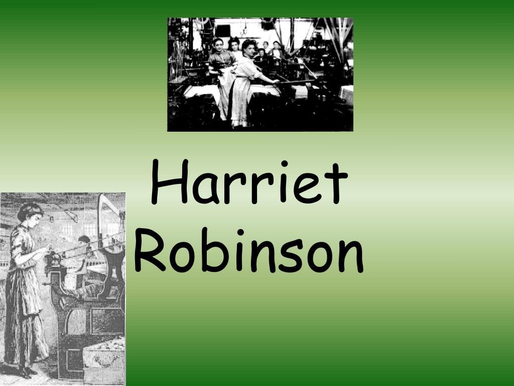 Harriet Robinson