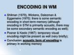 encoding in wm