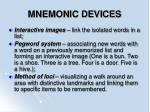 mnemonic devices82