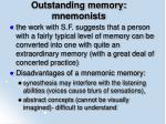 outstanding memory mnemonists10