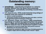 outstanding memory mnemonists9