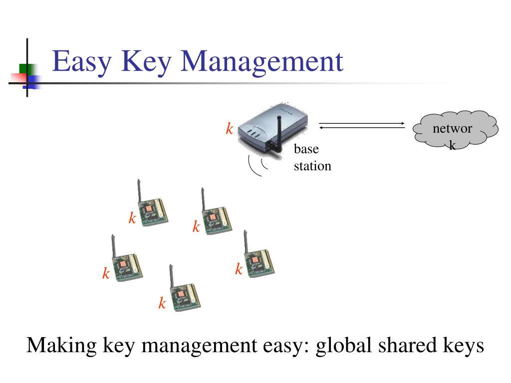 Easy Key Management